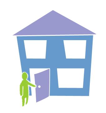 House Door Open