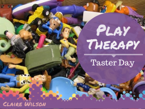 Play Therapy Taster Day font