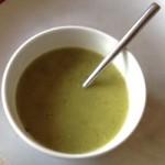 Curried Courgette Soup (aka Shrek Soup)