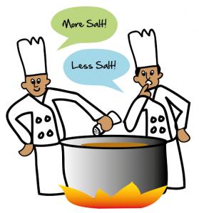 too cooks