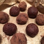 Christmas Pudding Chocolate Truffles