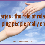 What Dr Chatterjee Said About Getting People to Change